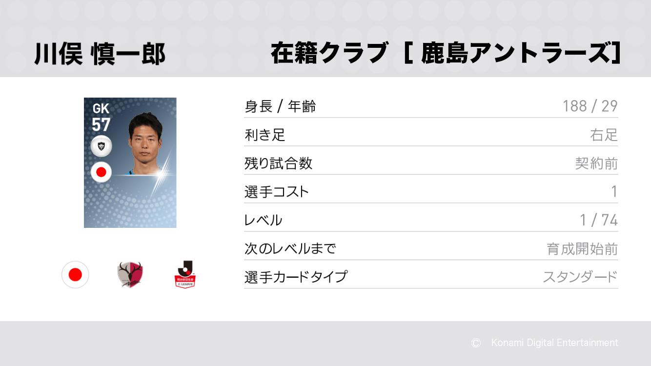 鹿島アントラーズの川俣 慎一郎選手