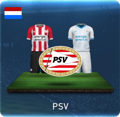 PSVのユニフォーム画像