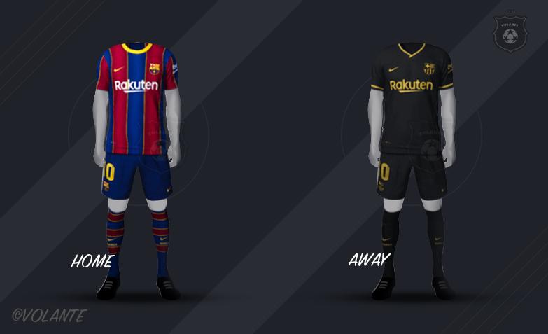 FC バルセロナのユニフォーム画像
