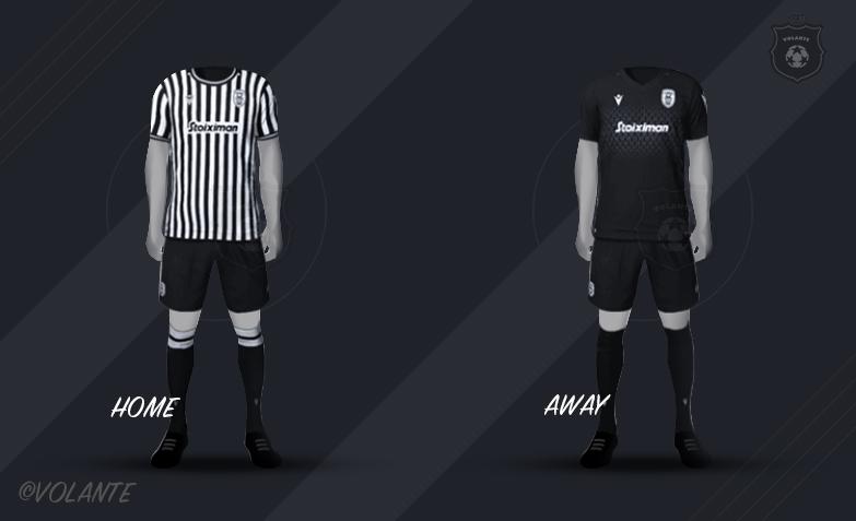 PAOKのユニフォーム画像